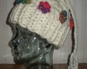 Garden Gnome Hand-Knit Hat