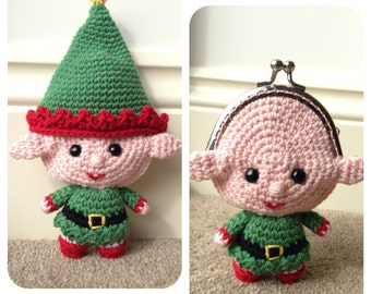 Elf Coin Purse Crochet Pattern