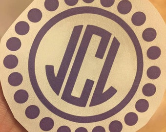 Monogram Decal