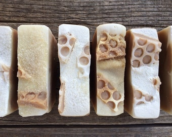 Honey Beeswax and Propolis Olive Oil and Tallow Bar Soap, Soap Bar, Natural Soap, Palm Oil Free, Gentle, Handmade, Gift Soap, under10