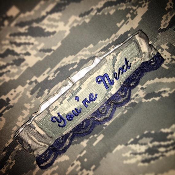 Air Force Wedding Garter: US Air Force ABU Garter Set Or Any Military Branch