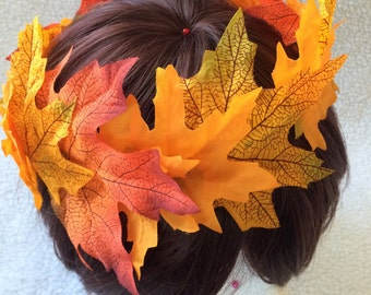 Fall Leaves Crown