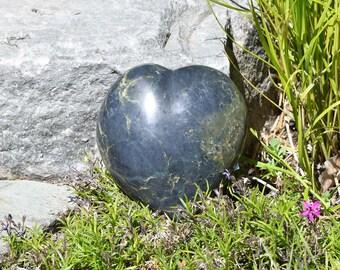 Jade memorial heart, pet memorial heart, pet remembrance