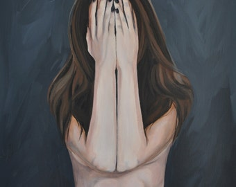 Original Painting 'A Little Shy'