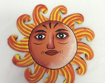 Haiti | Handcrafted Painted Sun