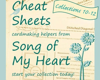 Cheat Sheets (10-12) Continuing Collection: Instant Digital Download