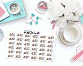 DUTY DAY Paper Planner Stickers