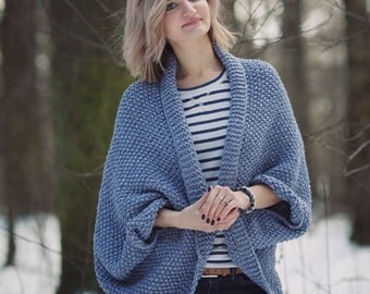 Women Cardigan, Knitted Cardigan, Hand knitted cardigan
