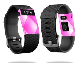 Skin Decal Wrap for Fitbit Blaze, Charge, Charge HR, Surge Watch cover sticker Pink Upholstery