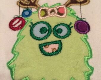 Reindeer monster onesie