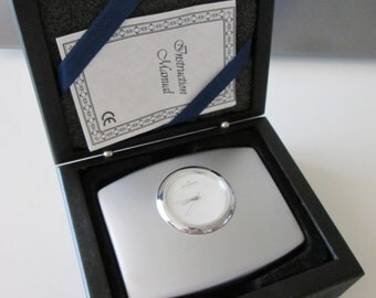 SKAGEN DENMARK, Quartz, Table Clock, NEW in the Box!