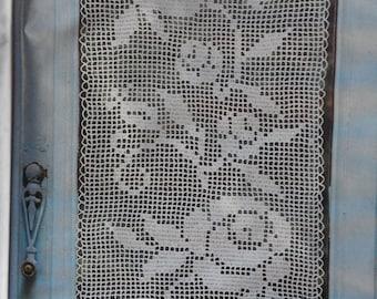 custom hand made crochet curtain 5