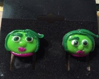 Disney Inside Out Disgust Earrings