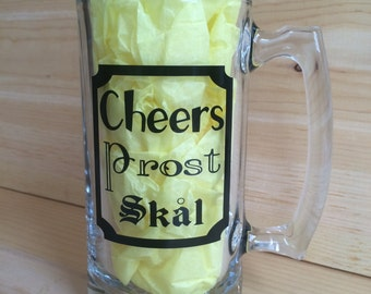Cheers! Decal