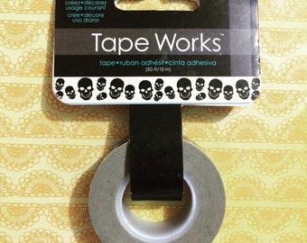 Skulls Washi Tape