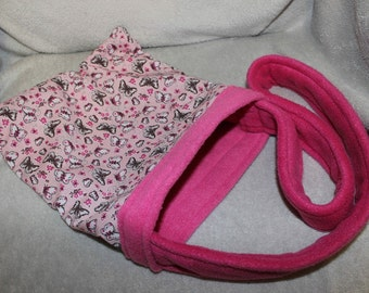 Custom made to order small animal bonding bag (rat, hamster, degu)