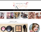 MakeUp Blogger Template
