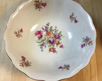 "Favolina Poland Fine China 9"" Fruit Bowl"