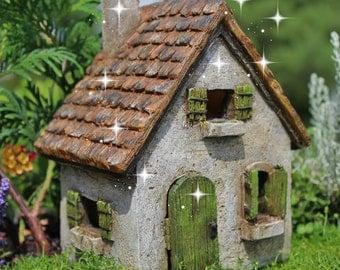 Fairy garden house, fairy cottage, miniature house, fairy garden accessories, fairy house, miniature garden, miniature garden house