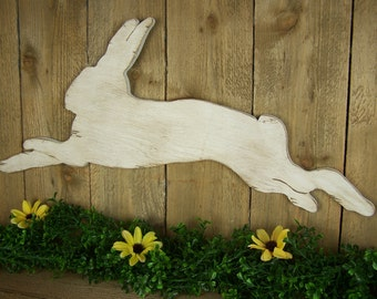 Country Primitive Rabbit Nursery Bunny Nursery Rustic Nursery Shabby Chic Nursery Rustic Spring Decor Primitive Folk Art Country Home Decor
