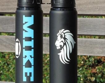 sports water bottle, aluminum water bottle, team water bottles,baseball personalized water bottle,softball water bottle, metal water bottles