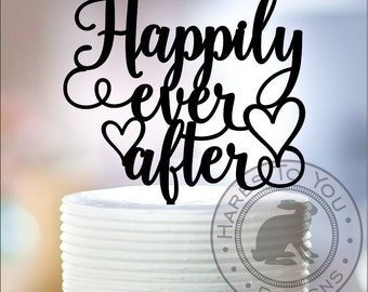 Happily Ever After Wedding Cake Topper 12-220