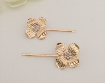 Flowers hair pin, bobby pin, flower headpiece, hair jewelry, headpiece, hair accessories, hair pin
