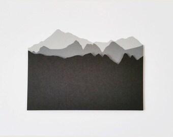 9 Mountain Landscape Die Cuts