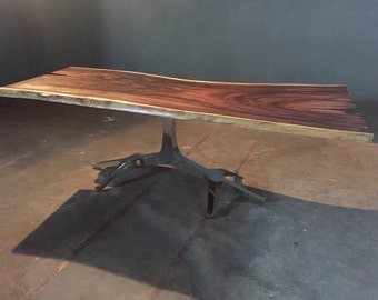Elk Live Edge Dining Table