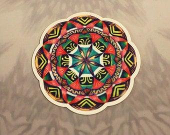 Aloha Mandala Outdoor Magnet