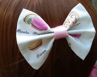 Classic Patisserie Macaron Parisian Bow