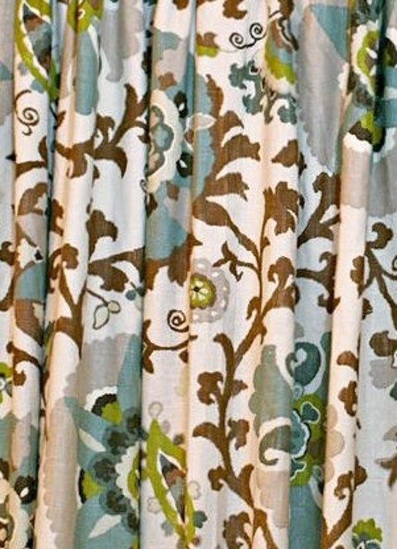 Floral Curtains Suzani Curtains Medallion Curtains Braemore