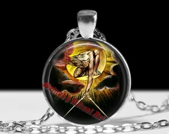 """The Ancient of Days""""pendant, William Blake jewelry, William Blake necklace, mystical jewelry, magic necklace #244"""