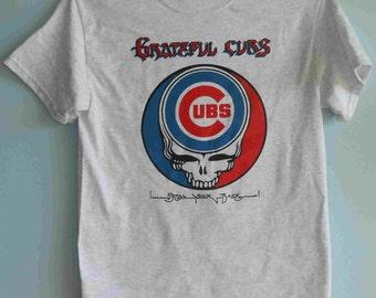 Chicago Cubs Grateful Dead Stealie Shirt
