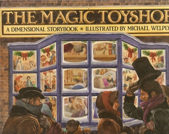 VINTAGE Children's Book - The Magic Toy Shop, Written by Peter Seymour