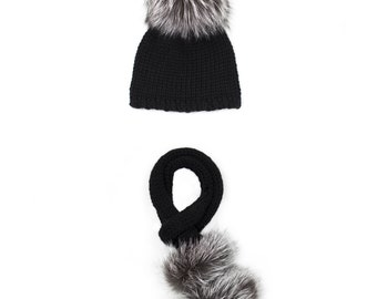 Nadia Hat And Scarf Set