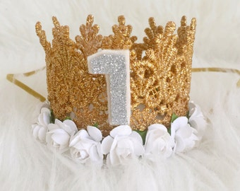 """The """"Allison"""" Crown with number"""