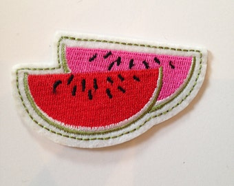Watermelon Slices Iron on Patch