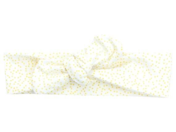 Gold Sparkle Christmas Baby Top Knot Headband Adult Knot Headband Baby Headwrap Adult Headwrap Knot Headband Knotted Headwrap Christmas