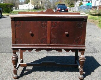 Small Vintage Buffet or Liquor Cabinet - Customize it!