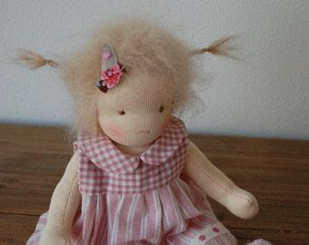 Waldorf doll, steiner doll, 9,5 inch