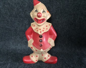 Vintage Flippo the Clown Seiberling squeeze toy