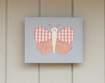 Butterfly #7 Fabric Wall Art