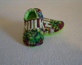 Avengers The Hulk Baby Booties