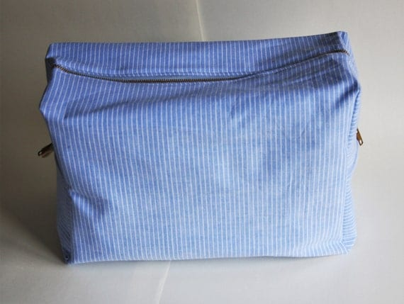 Cosmetic bag large cosmetic bag recycled fabric cosmetic bag large