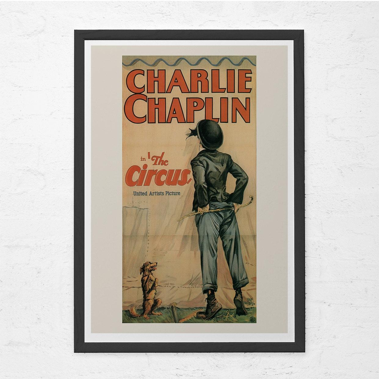 CLASSIC FILM POSTER Charlie Chaplin Poster Chaplin The