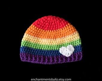 Crochet LGBT Beanie