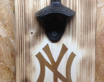 New York Yankees bottle opener