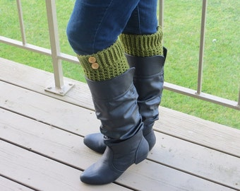 boot cuffs with fingerless gloves