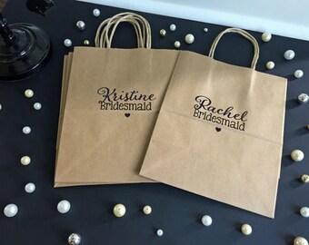 Bridal Party Gift Bag, Bridesmaid Gift, Wedding Party Gift, Thank You Gift Bag, Bridesmaid Gift Bag, Gift Bag, Bachelorette Party Gift Bags